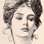 Gibson Girl iconic beauty