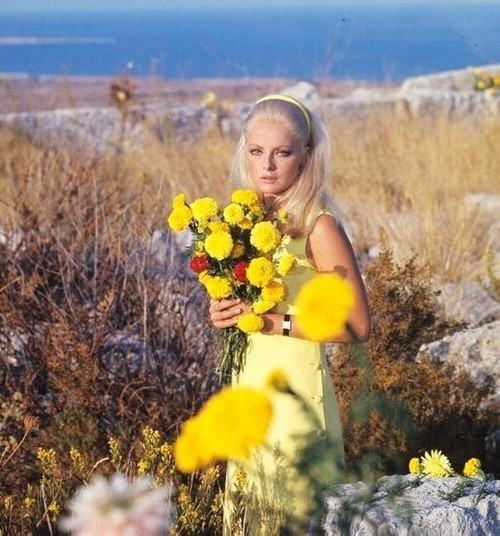 Beautiful Italian actress Virna Lisi (8 November 1936 – 18 December 2014)