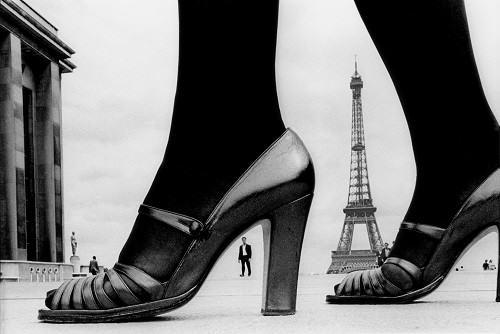 1974, Paris, for Stern, shoe and Tour Eiffel