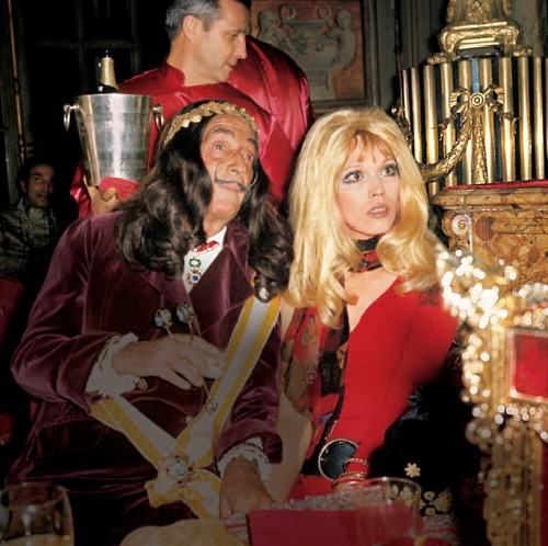 Angel of Salvador Dali Amanda Lear