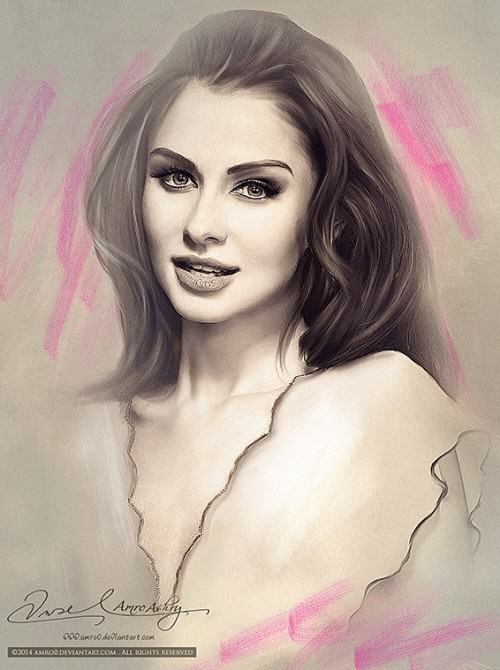 Painting beauty Amro Ashry