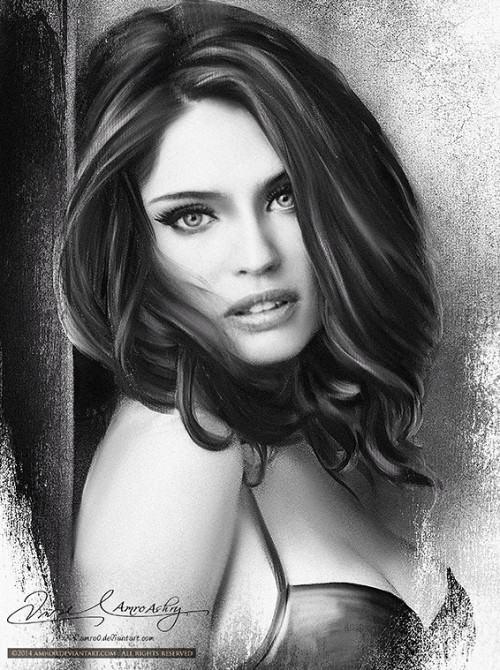 Painting beauty Amro Ashry