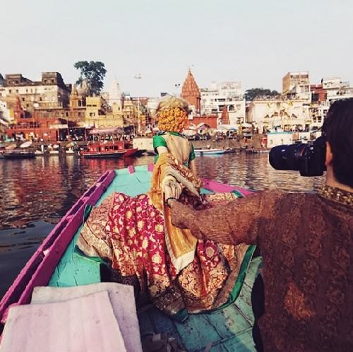 Varanasi. 'Our first trip to the holy river Ganges. Unforgettable experience'