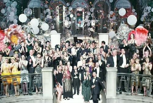 Background scenery of The Great Gatsby, 2013