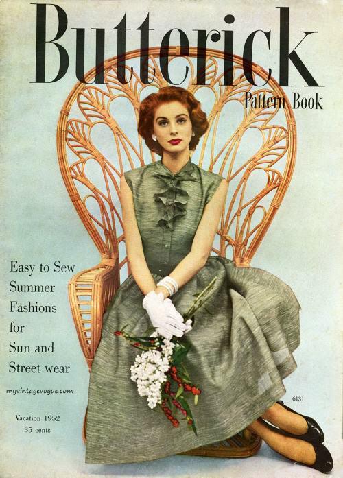 Butterick Pattern Book 1952