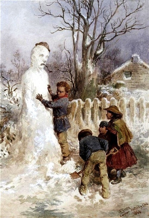 Charles Green 'Snowman', 1870