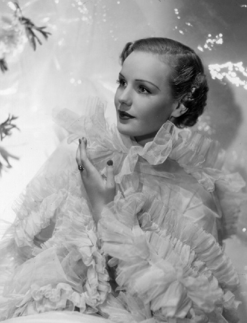 Hollywood actress Frances Farmer