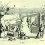 Illustration to the children's book 'Die Welt im Kleinen', 1867