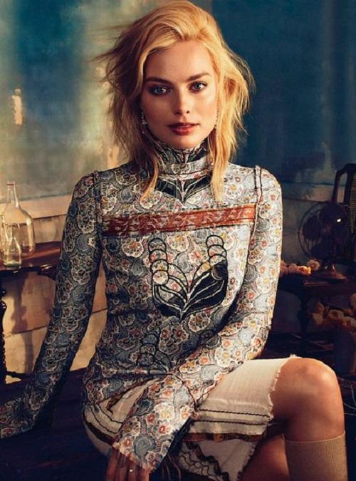Margot Robbie Vogue Australia 2015
