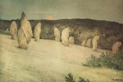 Painting by Theodor Severin Kittelsen (27 April 1857 – 21 January 1914), Norwegian artist