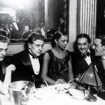 From left to right – Regine Renchon, the wife of Georges Simenon, Simenon himself, Josephine Baker and her first husband, Count Pepito Abatino