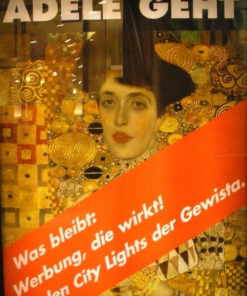 Symbol of Austria Woman in Gold