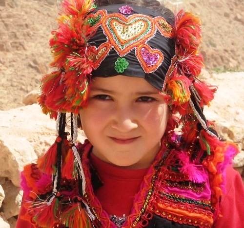 Berber tribal girl