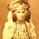 Old photo, Berber tribal woman
