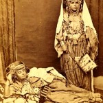 Two Berber tribal women old photo