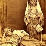 Two Berber tribal women old photo