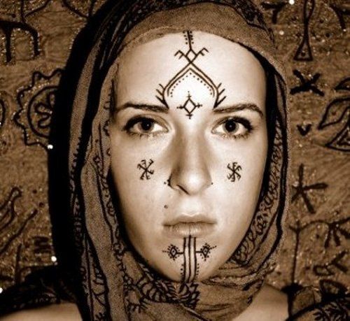 tattoos of Berber women