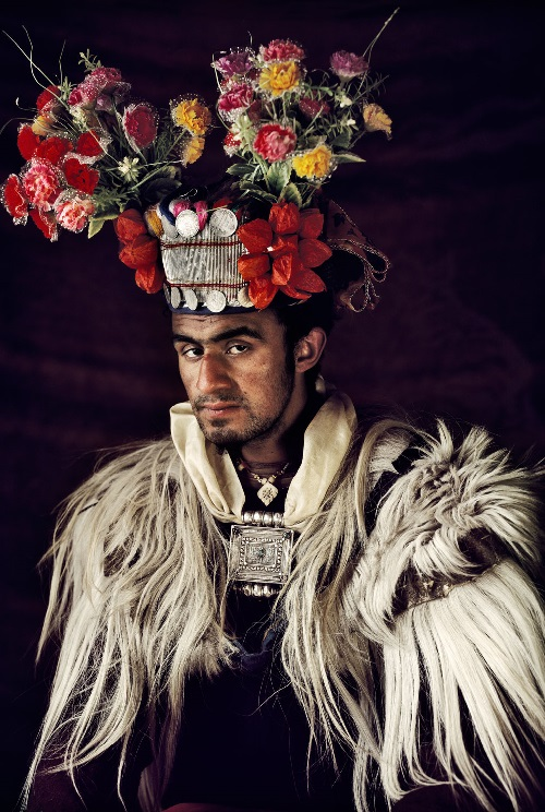 Drokpa tribe man in India. 'Before they pass away' photo project by Jimmy Nelson