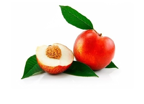 Peacherine – a cross between a peach and nectarine, which appeared not long ago. That's a pretty big size fruit with smooth skin, to taste – something between a nectarine and peach. Fruit and vegetable hybrids