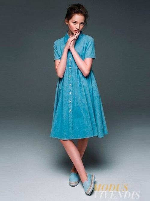 Future top model Milena Korobeynikova