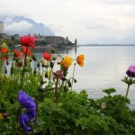 Lake Geneva in Switzerland