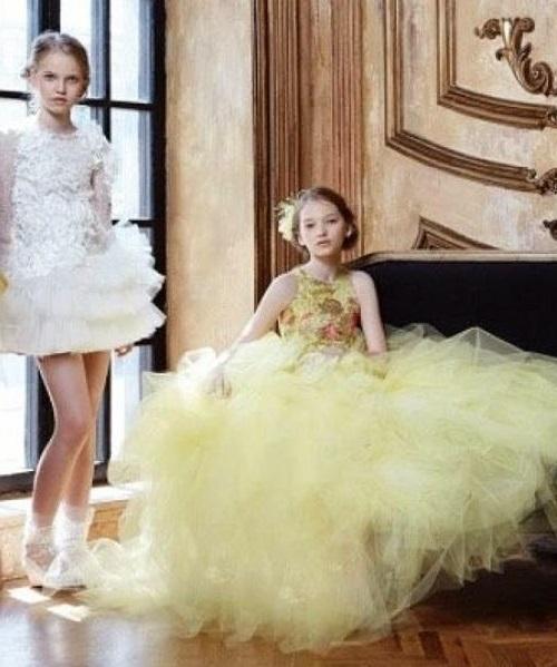 Beautiful promising model Milena Korobeynikova