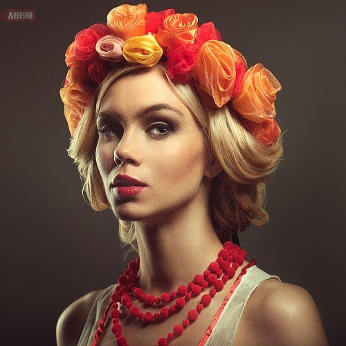 Beauty photographer Sergei Lenin