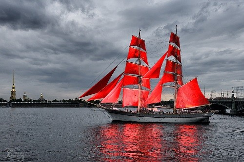 Scarlet Sails in St. Petersburg, 2015