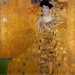 Symbol of Austria Woman in Gold