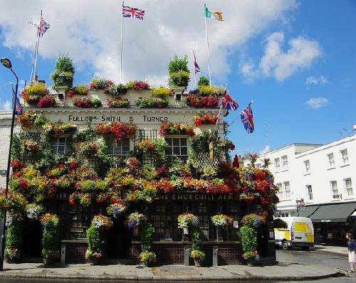 The Churchill Arms pub