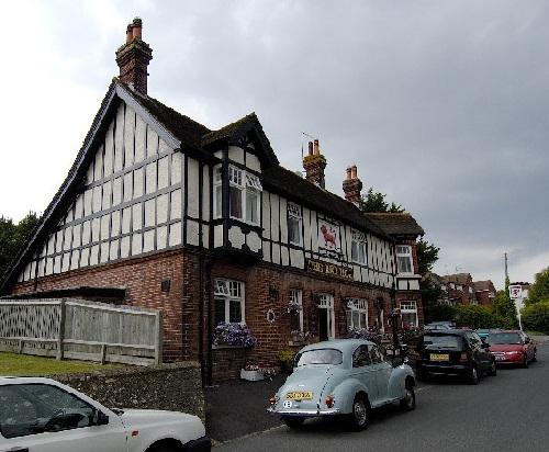 The Red Lion pub, Willingdon Village