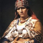 The traditional Berber dress and decorations