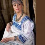 Folk costume and decorations are very similar to Russian