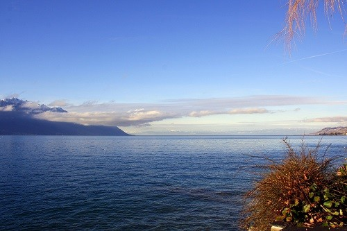 the Swiss Alps Lake Geneva