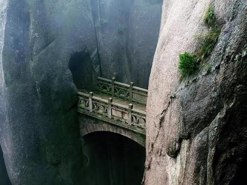 Huangshan, Anhui, China. (Huangshan means 'Yellow Mountains')