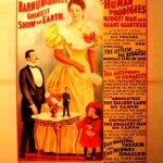 Circus poster with Ella Ewing