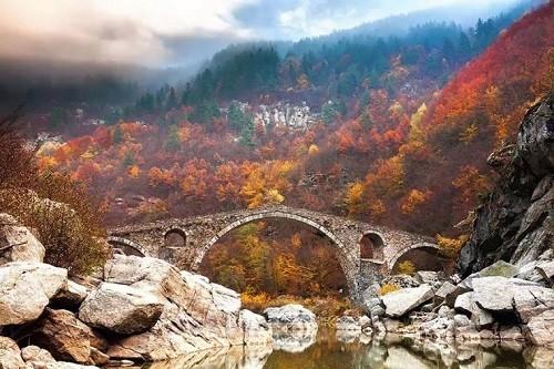 Devil's Bridge in the Rhodope Mountains, Bulgaria