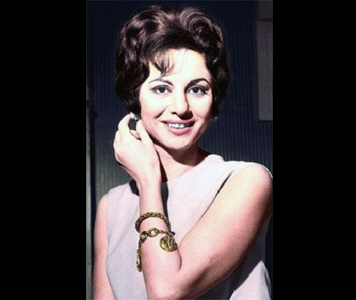 Revered as an icon in Egyptian and Middle Eastern cinema Egyptian movie star Faten Hamama (May 27, 1931 – January 17, 2015)