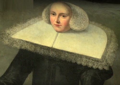 Trijntje Keever, detail of painting