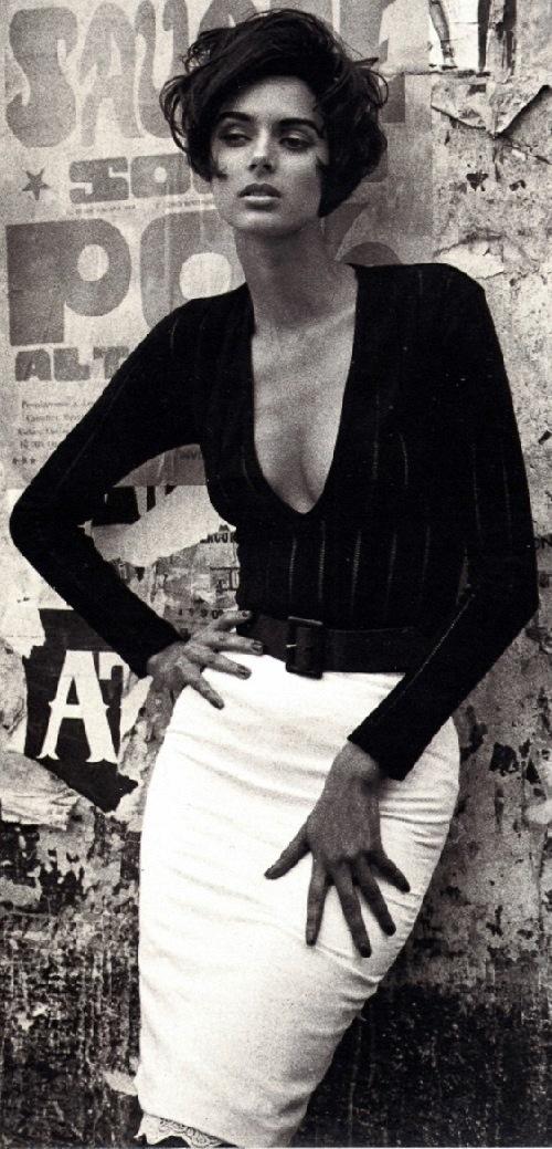 British supermodel Heather Stewart Whyte