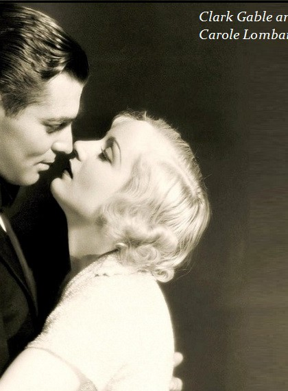 Gable and Carole Lombard
