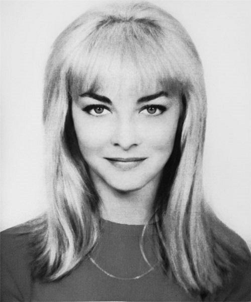 Film star Barbara Brylska