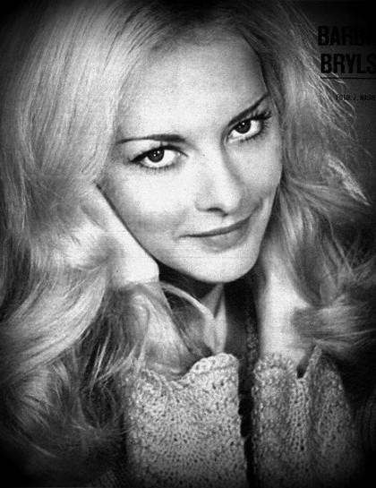 Film actress Barbara Brylska