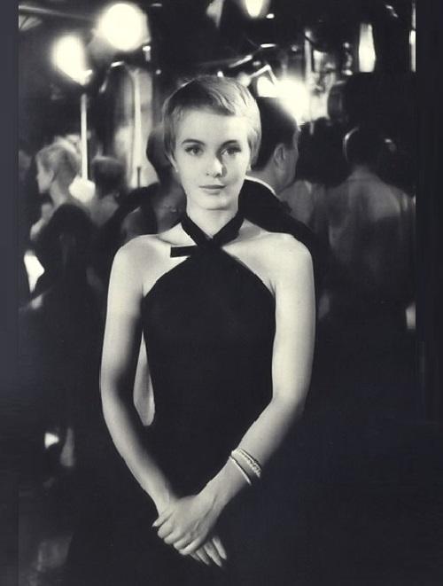 Beautiful American actress Jean Seberg