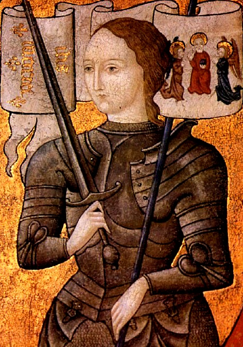 French heroine Joan of Arc