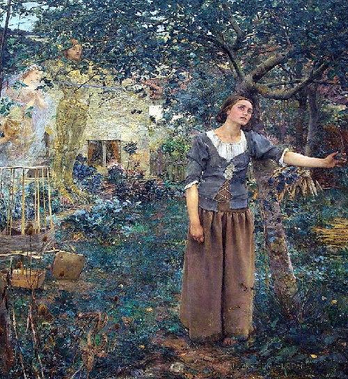 Joan of Arc Vision (Jules Bastien-Lepage, 1879)