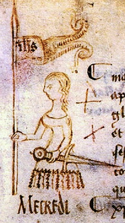 The only lifetime portrait of Joan of Arc, dated 10 May 1429