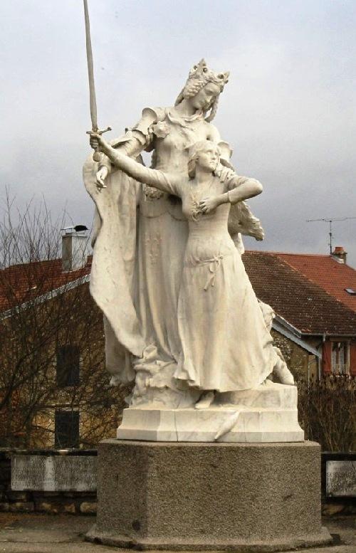 French heroine Joan of Arc