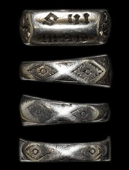 ring of the XV century, presumably belonged to Joan of Arc