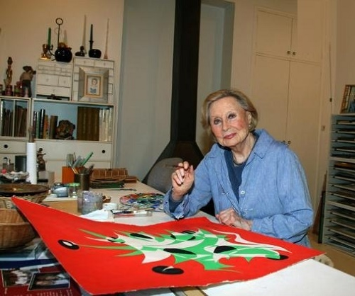 Also, Michelle Morgan was an abstract artist, and loved to paint